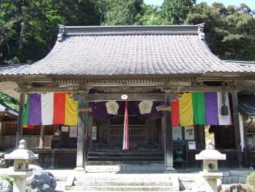 酒波寺本堂