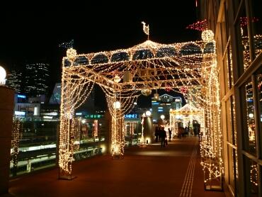 高島屋 ライトアップ