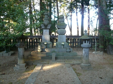 武田信玄の墓