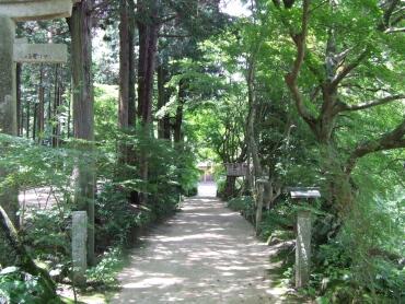 長寿寺 参道