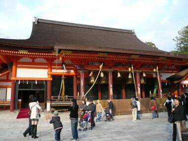 八坂神社 本殿