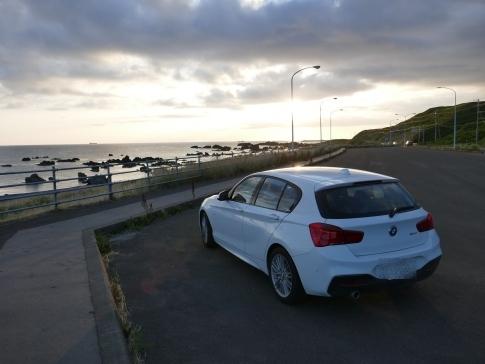 08上ノ国の海岸で夕陽を眺める2.jpg