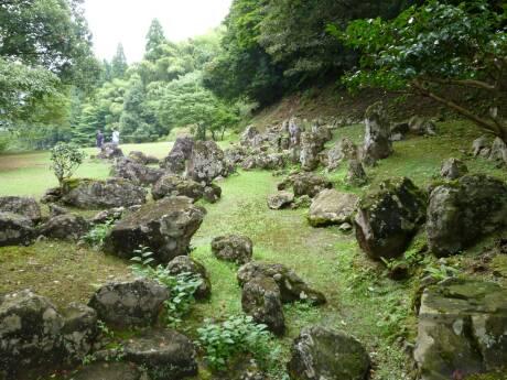 一乗谷 湯殿跡庭園.jpg