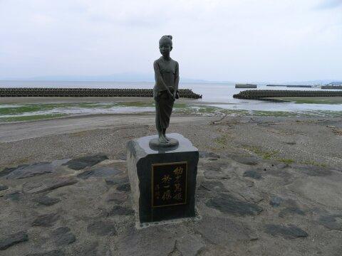 今泉島津邸跡 篤姫像.jpg