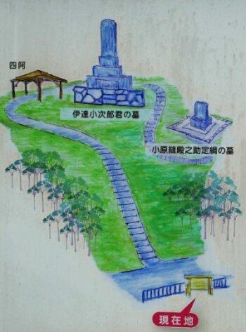 伊達小次郎の墓3.jpg