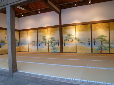 桜田門外の変オープンセット 江戸城松の廊下.jpg
