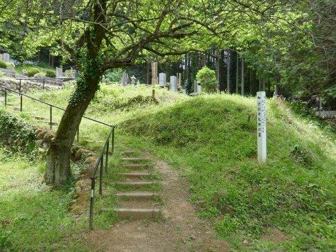 渋沢平九郎の墓.jpg