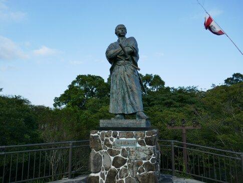 風頭公園の龍馬像.jpg